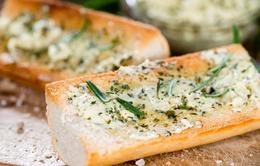 Cách làm bánh mì tỏi tại nhà