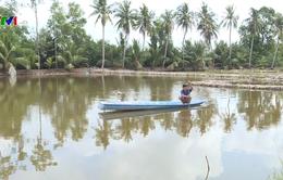 Thiếu nước mặn, người dân Bạc Liêu mua nước biển nuôi tôm