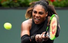 Indian Wells 2018: Serena Williams giành quyền vào vòng 3