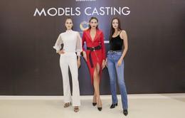 Võ Hoàng Yến, Ngọc Châu, Hương Ly đọ dáng tại buổi chấm casting người mẫu