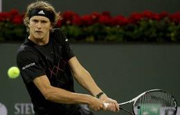 Indian Wells 2018: Alexander Zverev thua sốc, Del Potro thắng dễ