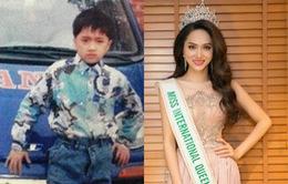 Hành trình thay đổi nhan sắc đáng kinh ngạc của Hoa hậu Hương Giang
