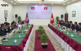 Bộ Lễ nghi và tôn giáo Campuchia làm việc với Ban Tôn giáo Chính phủ