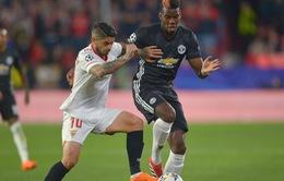 Lịch thi đấu Champions League rạng sáng 14/3: Man Utd - Sevilla