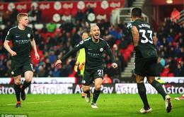 Man City có thể vô địch trước trận derby Manchester