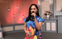 """Diễn viên Lan Phương khoe giọng hát ngọt ngào với nhiều thứ tiếng trong """"Bữa trưa vui vẻ"""""""