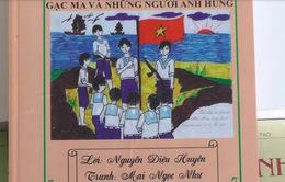 """""""Gạc Ma và những người anh hùng"""" - Truyện tranh lịch sử của học sinh về Gạc Ma"""