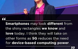 """5G sẽ khiến smartphone phải """"thay hình đổi dạng"""""""