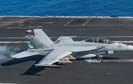 Rơi máy bay tiêm kích F-18 của Hải quân Mỹ, 2 phi công mất tích