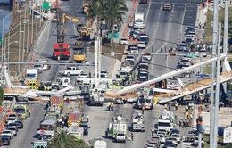 Vụ sập cầu ở Miami, Mỹ: Ít nhất 4 người thiệt mạng