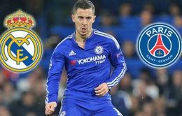 Chuyển nhượng bóng đá quốc tế 16/3: Chelsea lo ngại khả năng ra đi của Hazard