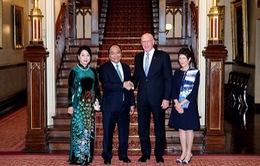 Thủ tướng hội kiến Thống đốc bang New South Wales, Australia