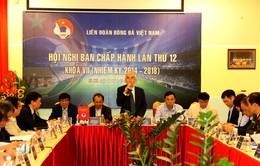 Hội nghị BCH VFF thảo luận về công tác chuẩn bị nhân sự Đại hội khóa VIII