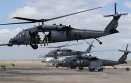 Rơi máy bay trực thăng quân sự Mỹ tại Iraq
