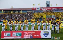 Lịch thi đấu vòng 5 Nuti Café V.League 2018 ngày 15/4: Tâm điểm B. Bình Dương – FLC Thanh Hoá, CLB Hải Phòng – CLB Quảng Nam
