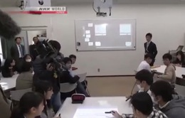 Lớp học kỹ thuật số tại Nhật Bản