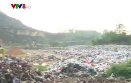 Hà Tĩnh: Hàng trăm hộ dân bức xúc vì bãi rác ô nhiễm