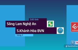 VIDEO: Tổng hợp diễn biến trận SLNA 0-1 Sanna Khánh Hoà