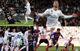 Kết quả bóng đá châu Âu rạng sáng 19/3: Messi gọi, Ronaldo trả lời