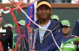 Đánh bại Kasatkina, Naomi Osaka lên ngôi vô địch Indian Wells 2018