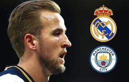 """Tranh Harry Kane, Man City """"đọ tiền"""" với Real Madrid"""
