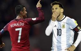 Không quan tâm đến Ronaldo, Messi chỉ mong vô địch World Cup tại Nga