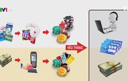 Các đối tượng tổ chức đánh bạc trực tuyến dưới hình thức nào?