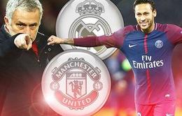 TIN CHUYỂN NHƯỢNG: Man Utd quyết đấu Real vì Neymar