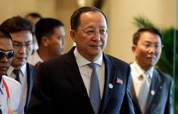 Ngoại trưởng Triều Tiên Ri Yong-ho thăm Trung Quốc