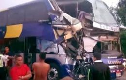 Ecuador: Tai nạn xe bus nghiêm trọng, hơn 60 người thương vong