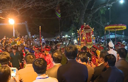 Lễ khai ấn đền Trần 2018 diễn ra trong an ninh và trật tự