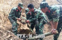 Phát hiện và hủy quả bom nặng hơn 300kg
