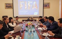 FIFA hỗ trợ VFF khai thác tài nguyên bóng đá nữ tại miền Trung