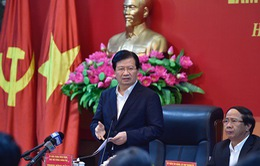 Phó Thủ tướng đề nghị Hải Phòng tiếp tục đẩy mạnh tái cấu trúc kinh tế