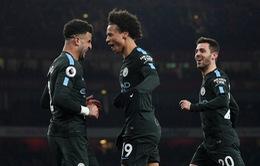 Kết quả bóng đá sáng 02/3: Leroy Sane tỏa sáng, Manchester City thắng thuyết phục Arsenal