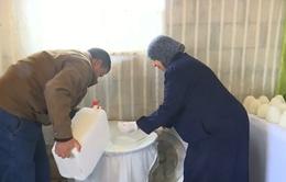 Bảo tồn cách làm sữa dê sấy khô truyền thống của Jordan