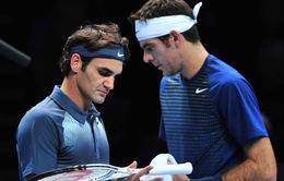 Roger Federer có thể gặp lại Del Potro tại Miami mở rộng