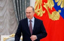 Tổng thống Nga Vladimir Putin tuyên bố giảm chi phí quốc phòng