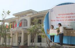 Trao 20 máy tính cho Trung tâm nuôi dạy trẻ khuyết tật tại Quảng Ngãi