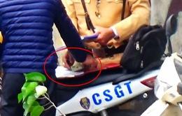 Vụ CSGT nghi mãi lộ: Bàn giao toàn bộ hồ sơ cho cơ quan điều tra