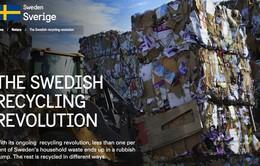 99% rác thải tại Thụy Điển được tái chế như thế nào?
