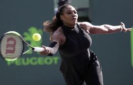 Serena Williams dừng bước ngay từ vòng 1 Miami mở rộng 2018