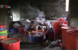 Bình Định: Kiểm tra, xử lý ô nhiễm môi trường tại làng nghề bún tươi Ngãi Chánh