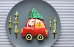 Những tác phẩm nghệ thuật đẹp mắt từ thực phẩm