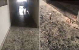 Những hình ảnh đầy ám ảnh bên trong chung cư Carina sau vụ cháy