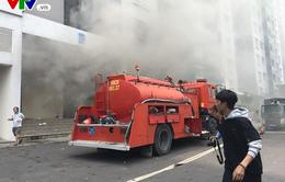 Cháy chung cư Carina tại TP.HCM: Cư dân được trở lại căn hộ để kiểm tra tài sản