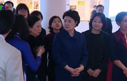 Phu nhân Tổng thống Hàn Quốc tìm hiểu văn hóa 54 dân tộc Việt Nam