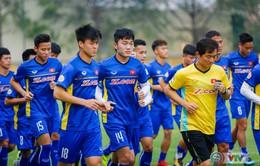 ẢNH: ĐTQG Việt Nam tập luyện trước trận gặp Jordan