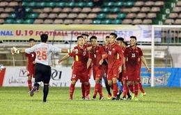 U19 quốc tế 2018: U19 tuyển chọn Việt Nam thắng tưng bừng, U19 HAGL thua tiếc nuối