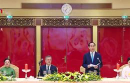 Chủ tịch nước chủ trì tiệc chiêu đãi Tổng thống Hàn Quốc